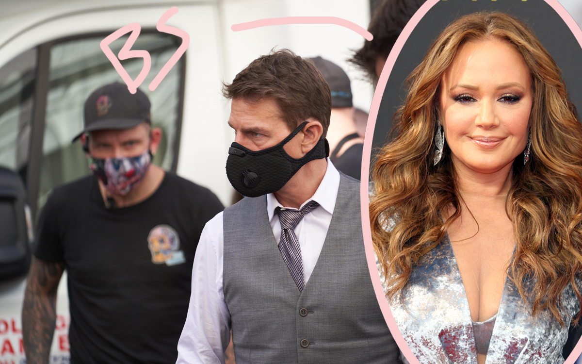 Leah Remini Thinks Tom Cruise's Leaked Rant Was FAKE?!