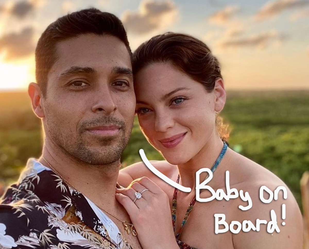 Wilmer Valderrama & Fiancée Amanda Pacheco Are Expecting Their First Child — See The EPIC Baby Bump Pics!