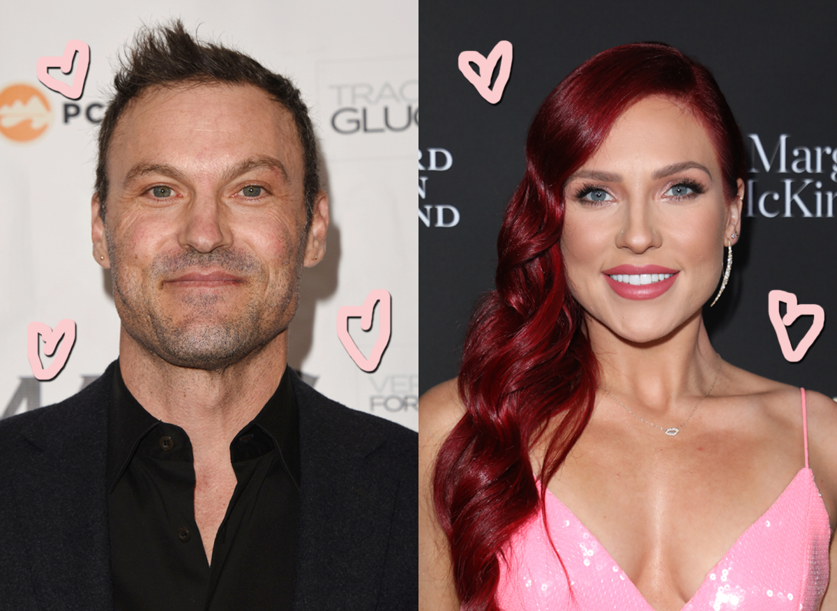 Brian Austin Green Moving On — & Jetting Off — With DWTS Pro Sharna Burgess!