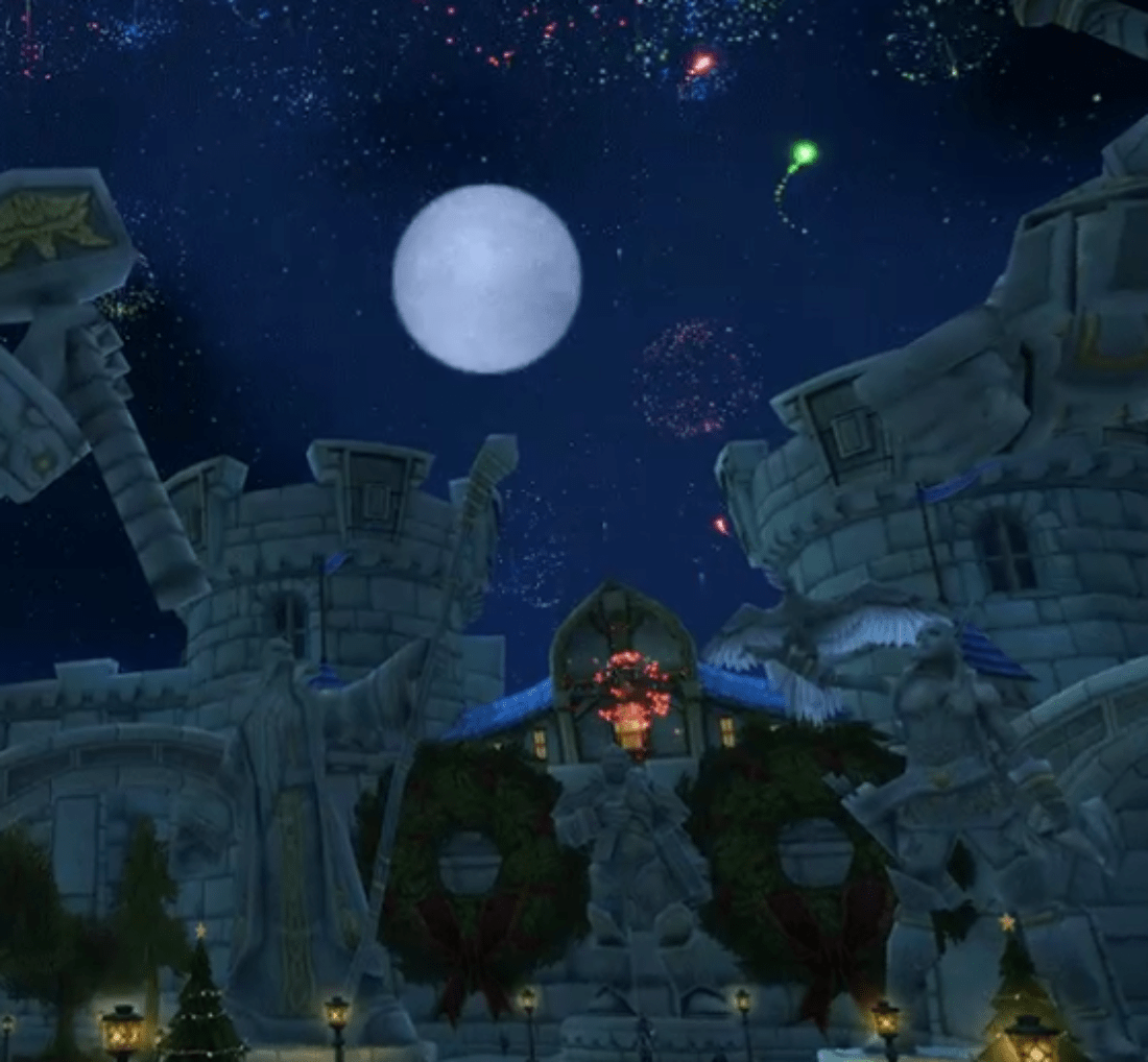 World Of Warcraft Celebrates New Years With A Fireworks Show And Intoxicated Guards