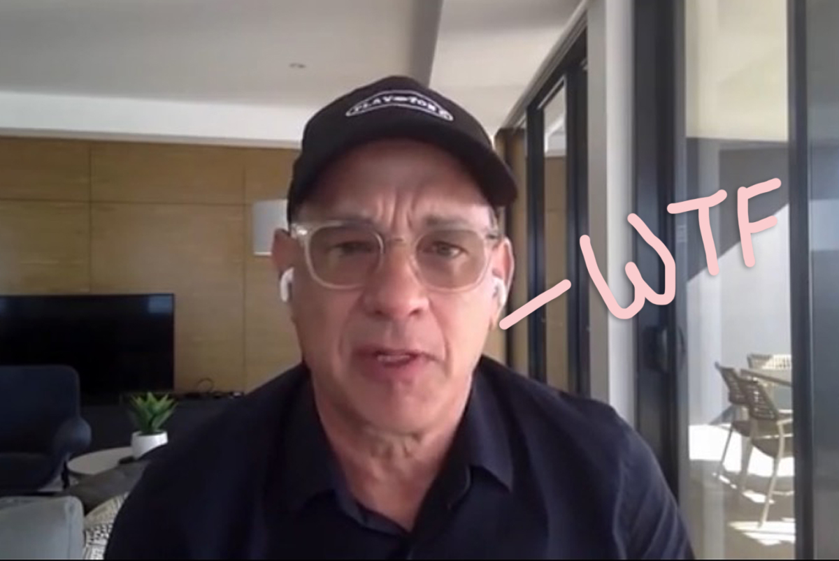 Hold Up! Tom Hanks Is Bald Now?! (VIDEO)
