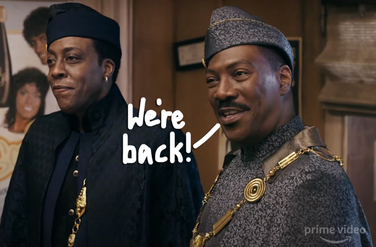 Eddie Murphy Is Coming 2 America AGAIN -- Over 30 Years Later! Watch The Sequel Teaser!