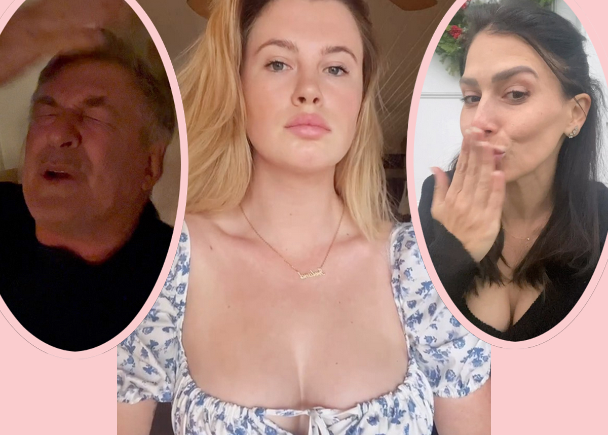 Ireland Baldwin Defends Stepmom 'Hilaria' After Accusations Her Spanish Identity Is A Hoax -- But Then APOLOGIZES?!