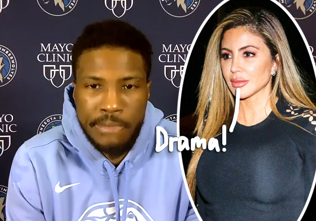 Malik Beasley Pleads Guilty To Threats Of Violence Charges — What Is Larsa Pippen Getting Herself Into??
