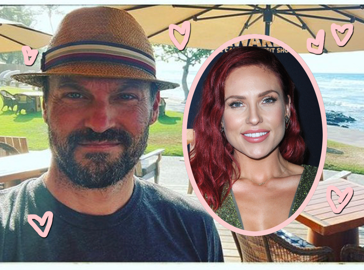 Brian Austin Green & Sharna Burgess Share Cagey Pics From Their Getaway Together -- Why Are They Hiding??