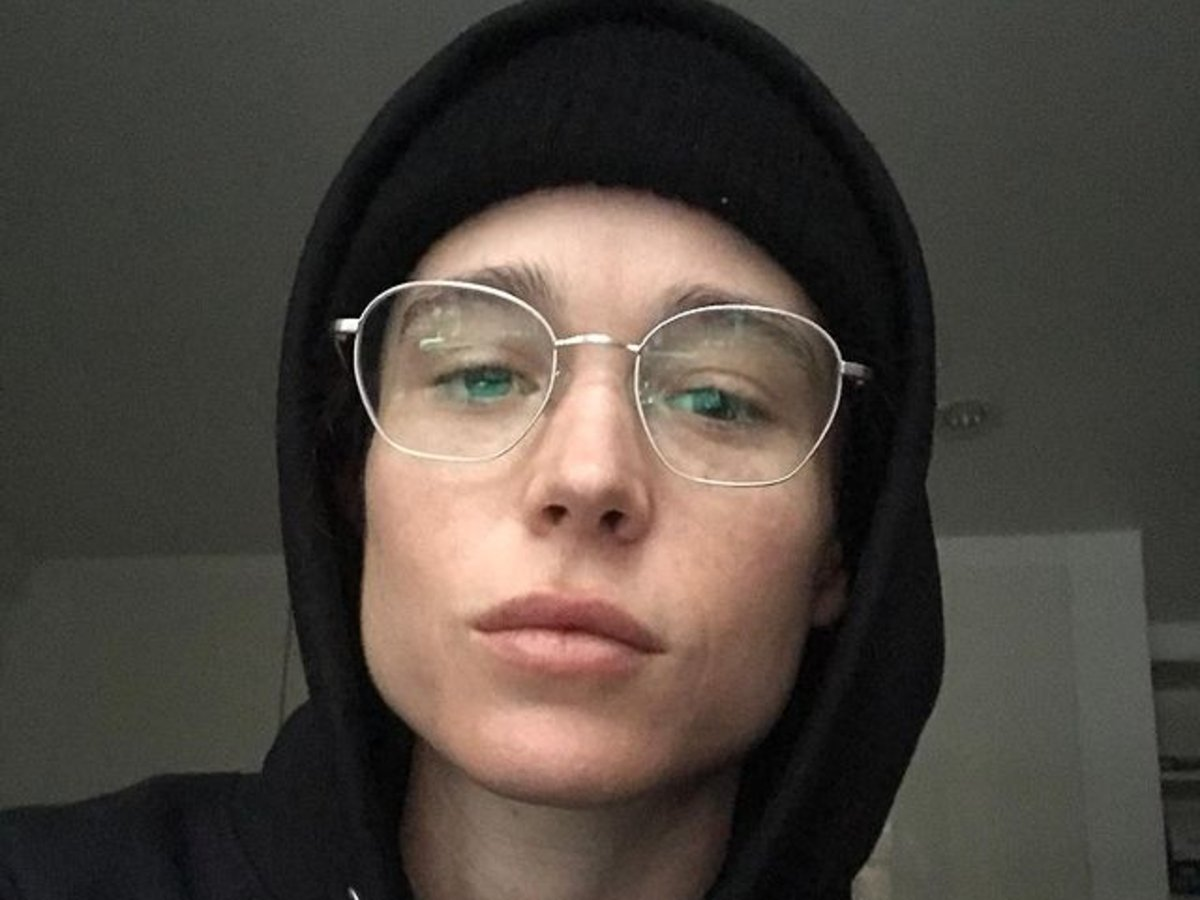 Elliot Page Shares His First Selfie Since Gender Reveal
