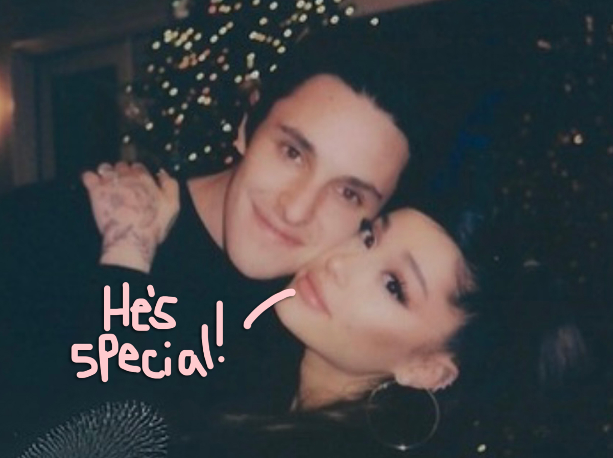 Ariana Grande Realized Dalton Gomez Is 'Very Special' & Loved Getting 'To Know Each Other In Peace'