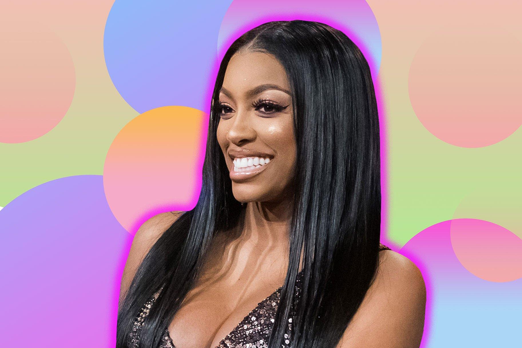 Porsha Williams' Video Featuring Santa Claus Makes Fans' Day