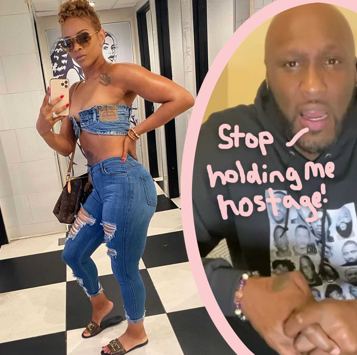 Lamar Odom Says Ex Sabrina Parr Is Holding His Social Media Accounts 'Hostage'