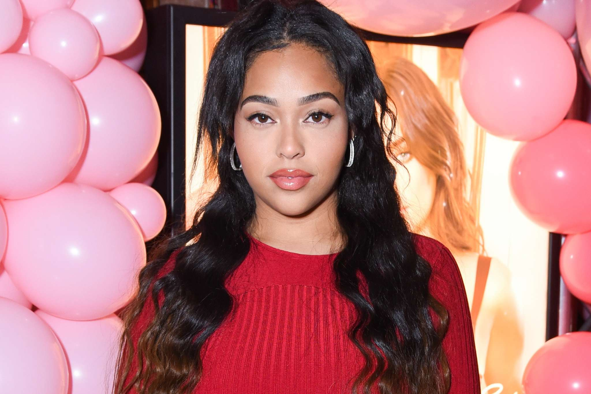 Jordyn Woods Is Glowing In Her Latest Photo – Check Her Out Driving This Red Beauty