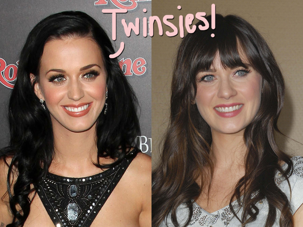 Katy Perry Actually Pretended To Be Zooey Deschanel To Get Into Clubs Back In The Day!