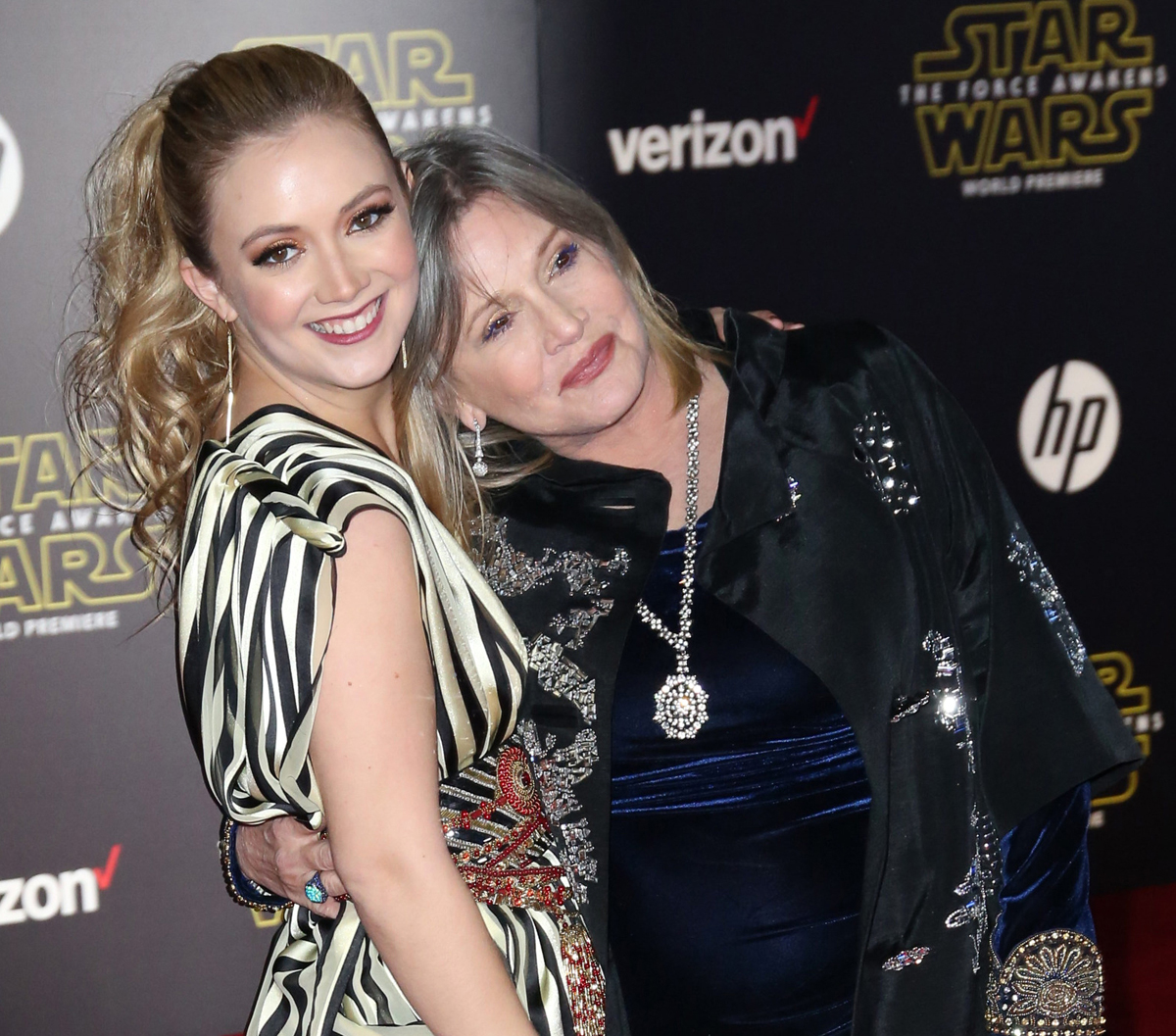 Billie Lourd Remembers Mom Carrie Fisher On Fourth Anniversary Of Her Death