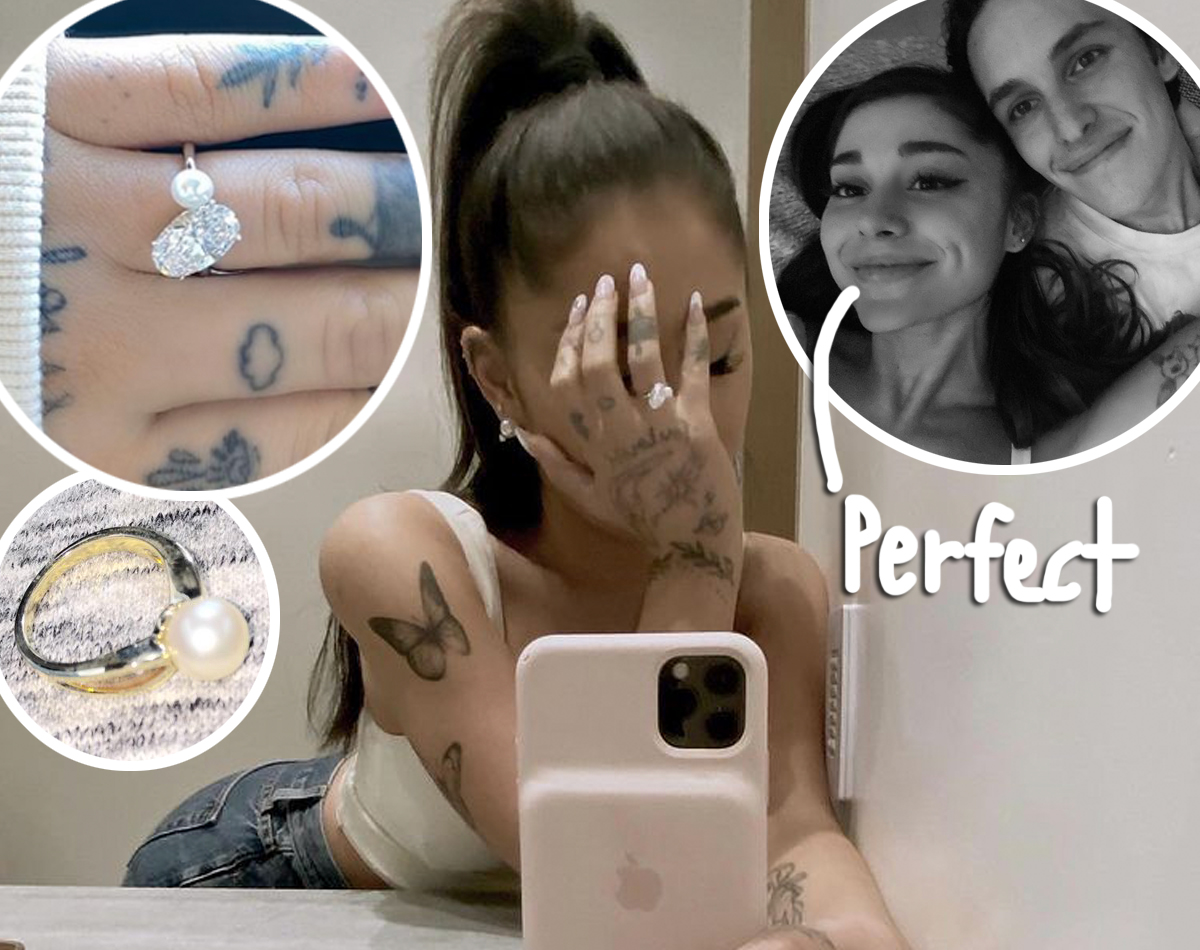 The Emotional Reason Ariana Grande's Engagement Ring Is So Unique!