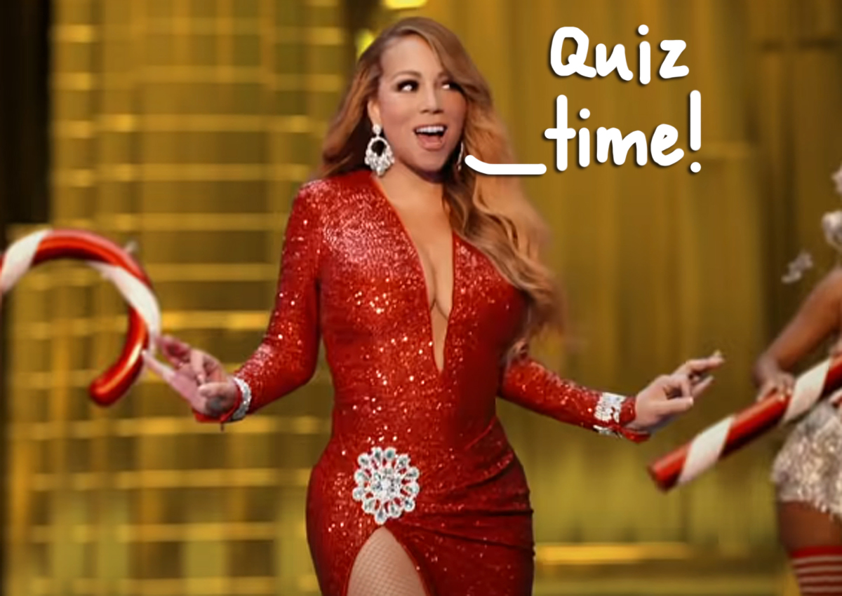 QUIZ: Name That Tune — Christmas Pop Song Edition!