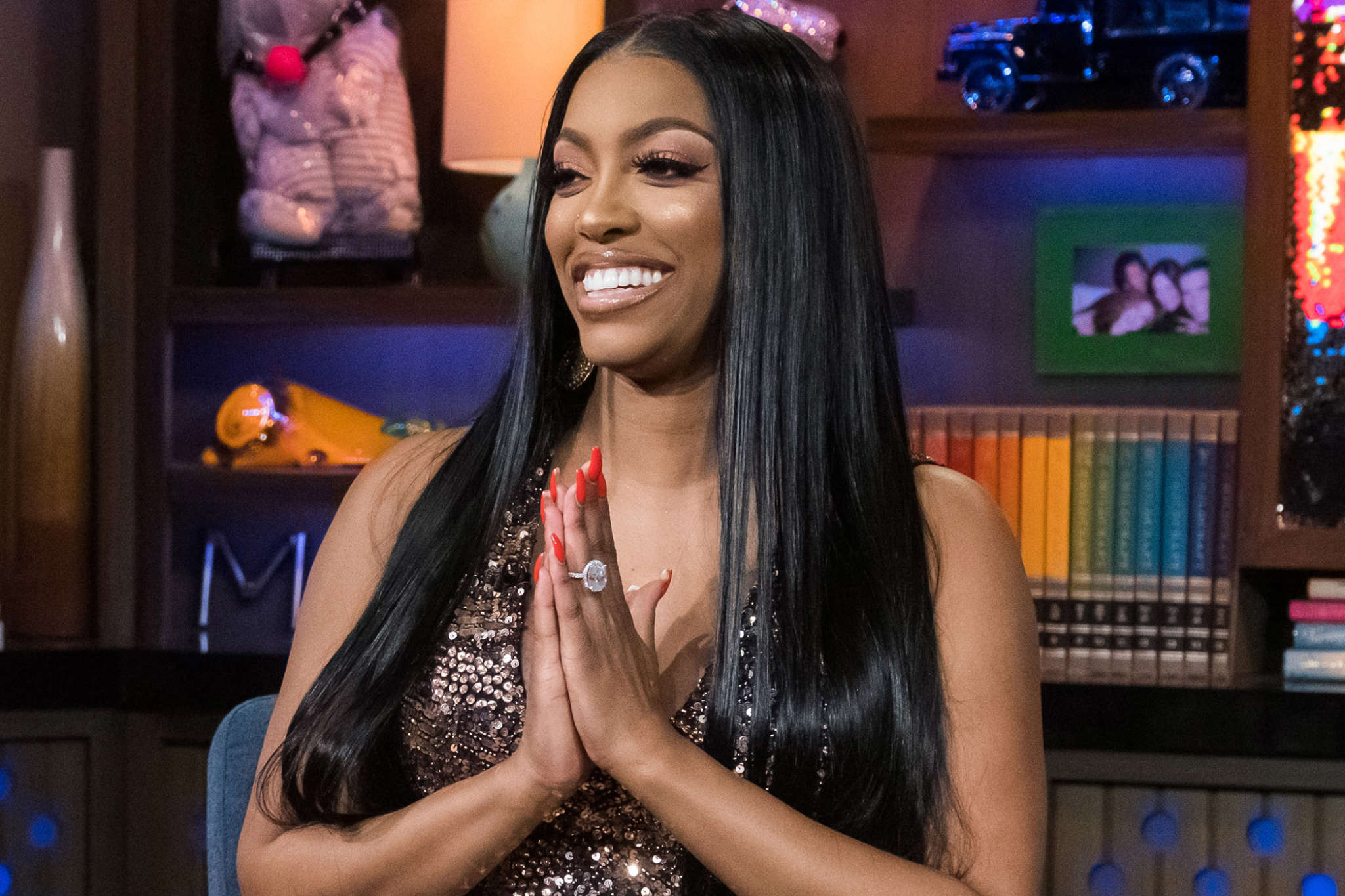 Porsha Williams Gushes Over Her Mom Diane And Her BF – See The Sweet Clips