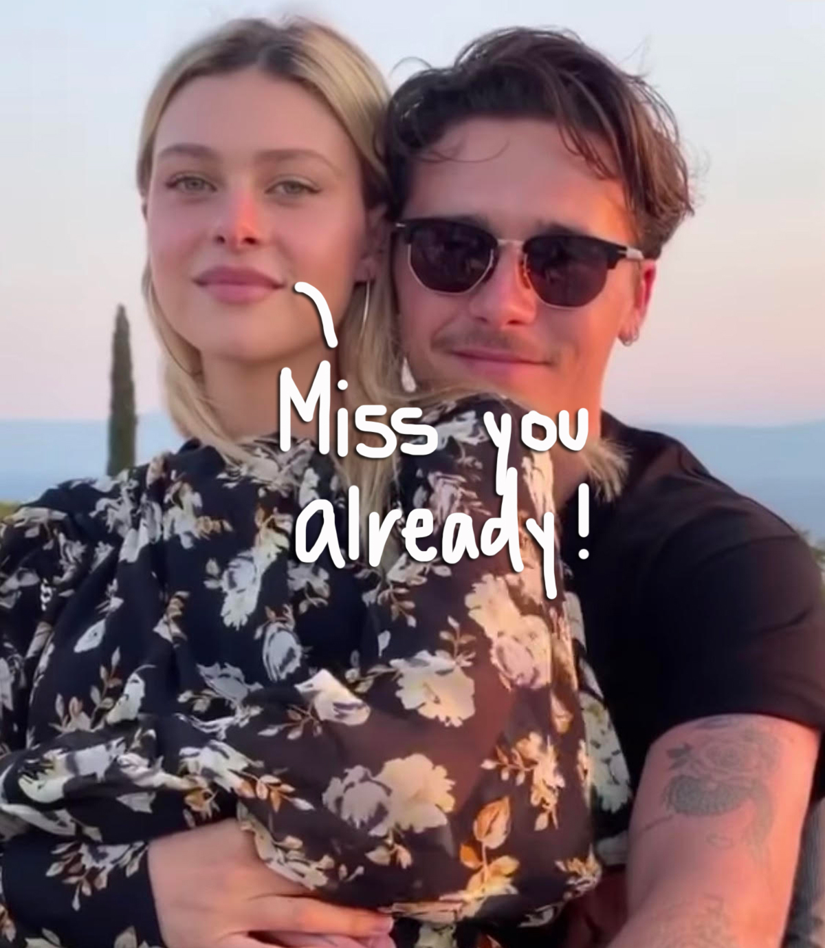 Brooklyn Beckham & Fiancée Nicola Peltz Forced To Spend The Holidays Apart Due To UK's Travel Restrictions