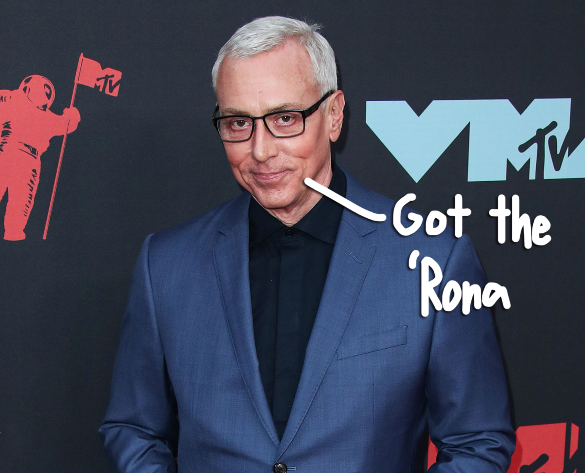 Dr. Drew Tests Positive For COVID-19 Months After Downplaying The Virus!
