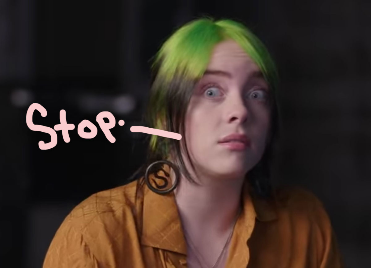 Billie Eilish Threatens To Cancel Upcoming Album After Haters Diss Her Hair!