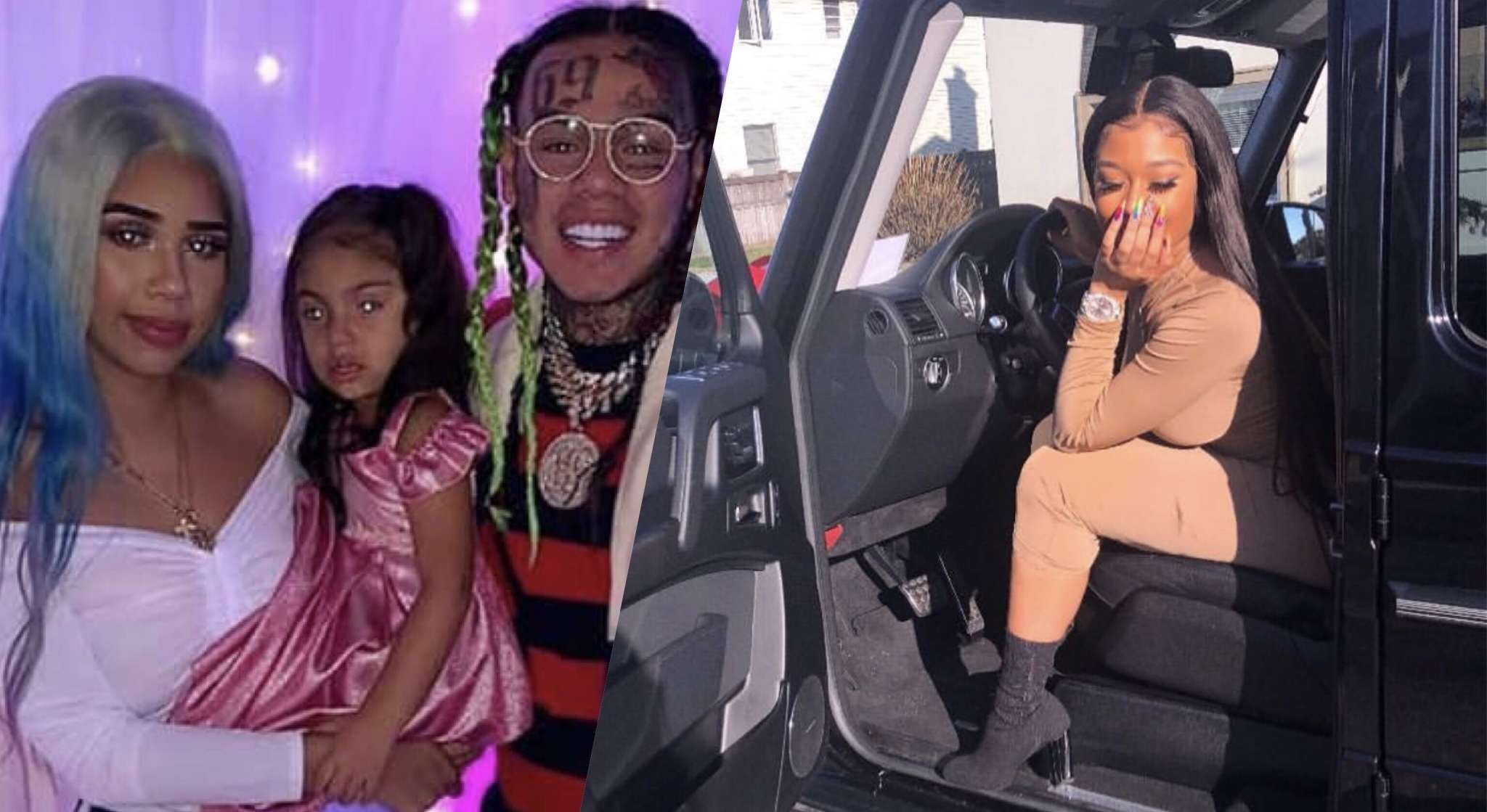 Tekashi 69's Baby Mama, Sara Molina Addresses Allegations That She Didn't Let Him See His Daughter For Christmas