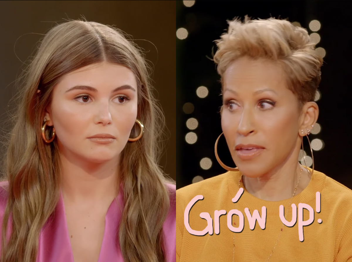 'Frustrating' Olivia Jade Blasted By Jada Pinkett Smith's Mom After Red Table Talk Interview
