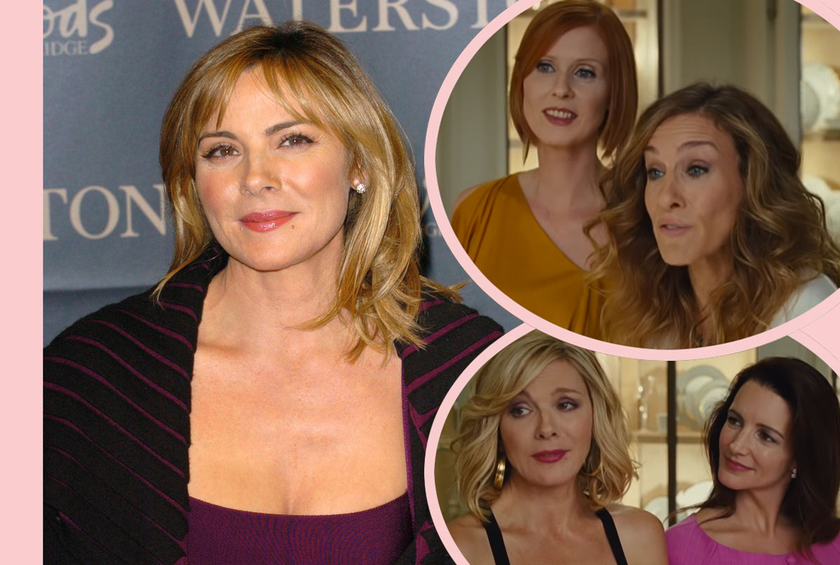 Kim Cattrall Says Sex And The City Stopped Her From Getting Pregnant!