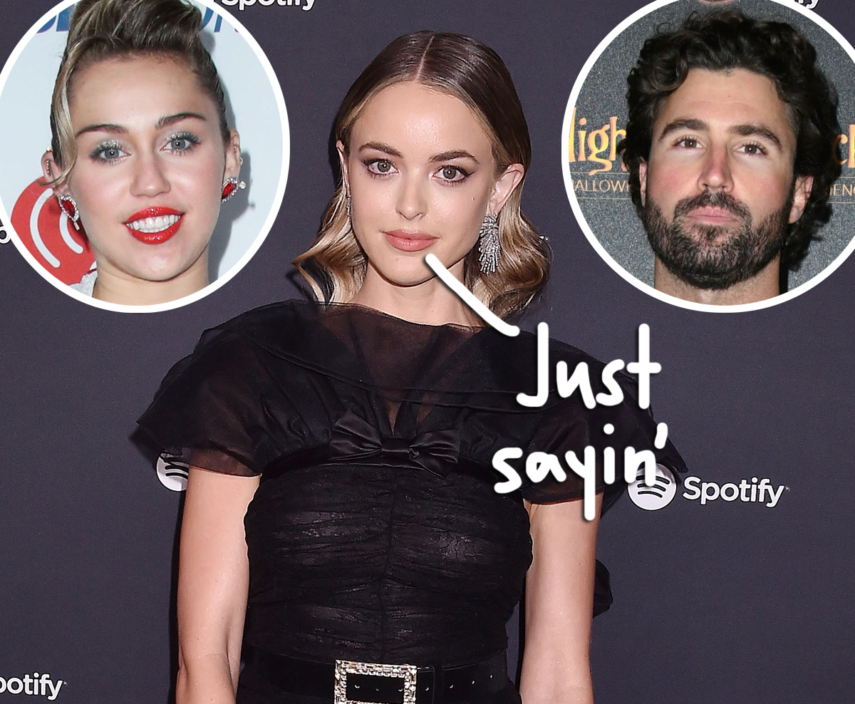 Kaitlynn Carter Throws Shade At Miley Cyrus AND Brody Jenner With Talk Of Her New Guy!