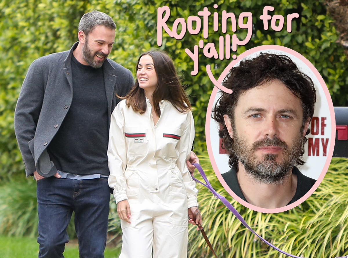 Casey Affleck Sings Ana De Armas' Praises — Ben Clearly Lost Out On A Good Thing!