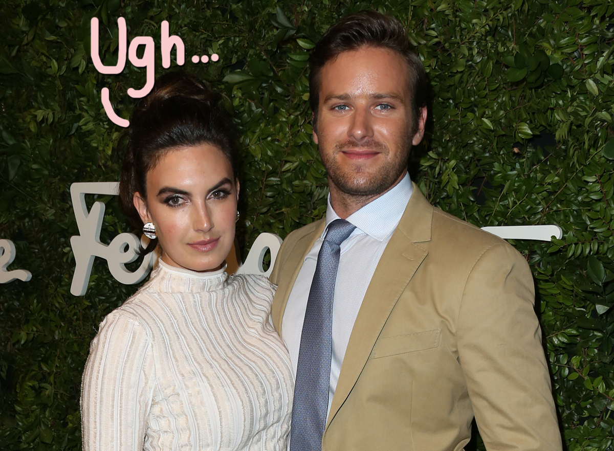 Elizabeth Chambers Finally Breaks Silence On Armie Hammer's IG Scandal — As He Drops ANOTHER Project!