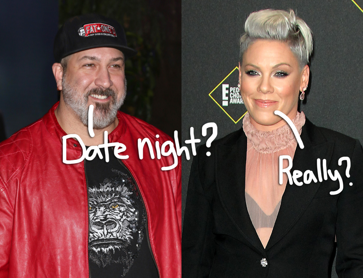 *NSYNC's Joey Fatone Reveals He DID Go Out On Dates With Pink — But It Didn't Go Well