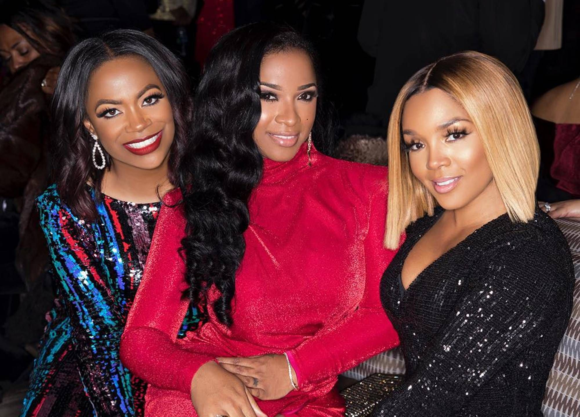 Tiny Harris And Kandi Burruss Share Photos From Kirk Frost's Anniversary – See The Whole Gang Having The Best Time