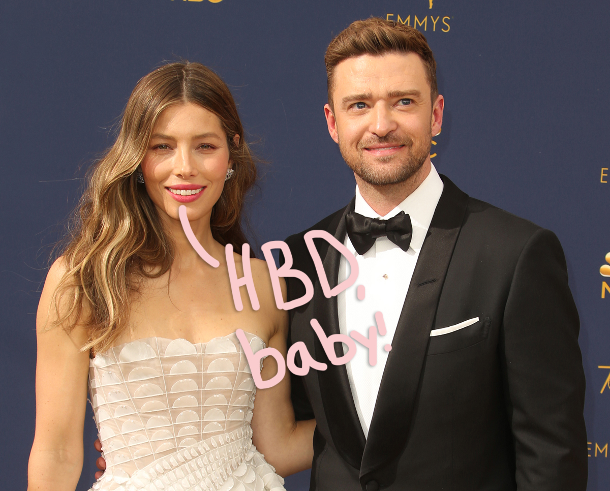 Jessica Biel Shares A Sweet Tribute For Hubby Justin Timberlake's 40th Birthday