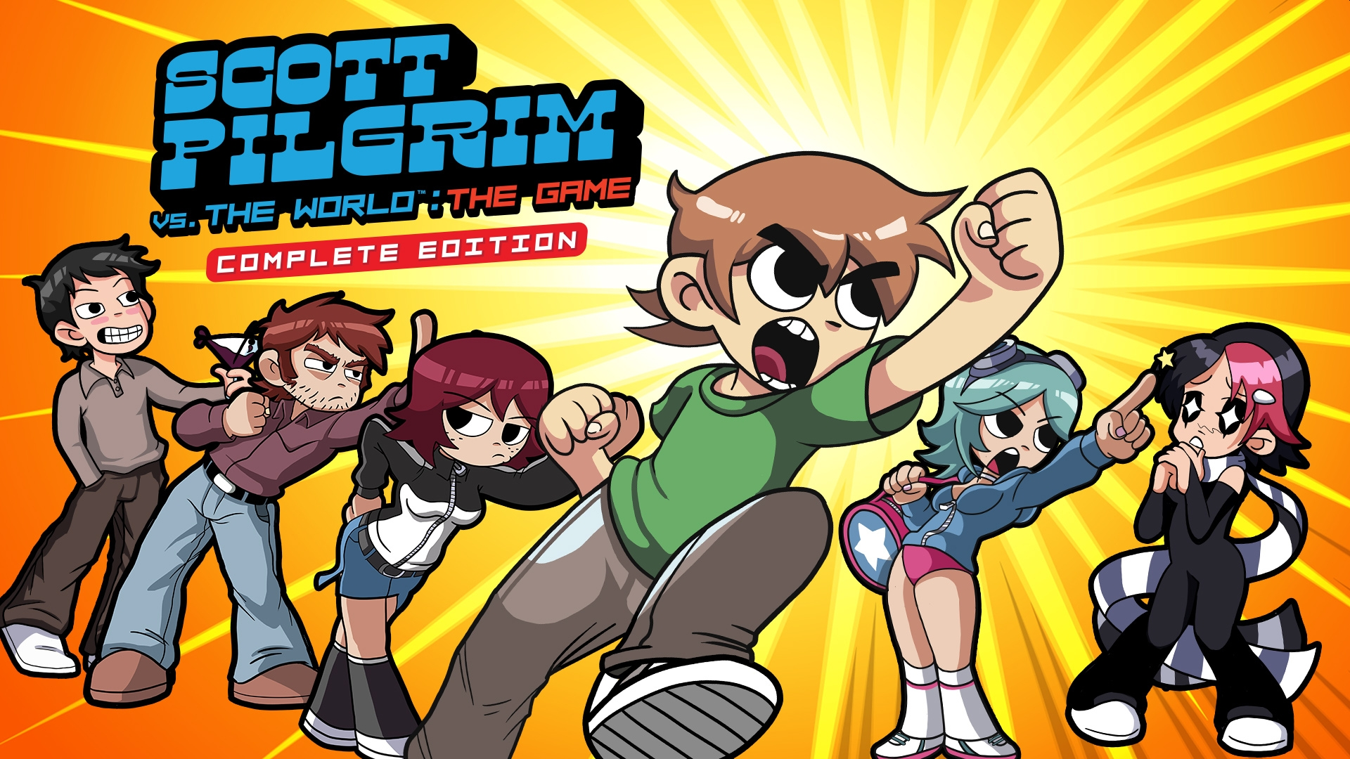 Limited Run Games Announces Special Editions Of Scott Pilgrim vs. The World: The Game Complete Edition