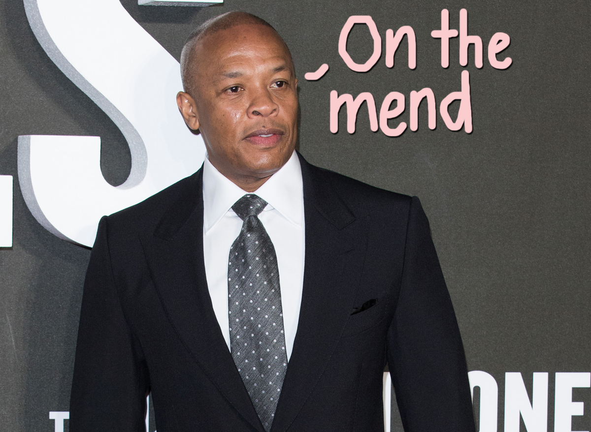 Dr. Dre Shares Hopeful Message After Suffering Brain Aneurysm