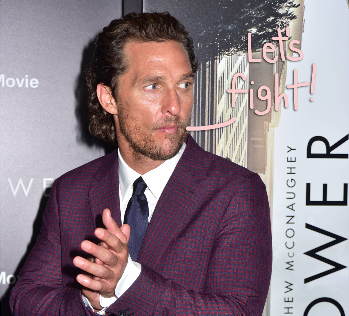 Would YOU Watch Matthew McConaughey Wrestle?! WWE, He's Interested!
