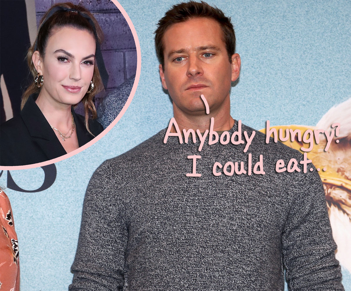 Armie Hammer Accused Of Allegedly Discussing Cannibalism In Leaked Kinky DMs: 'I Need To Drink Your Blood'