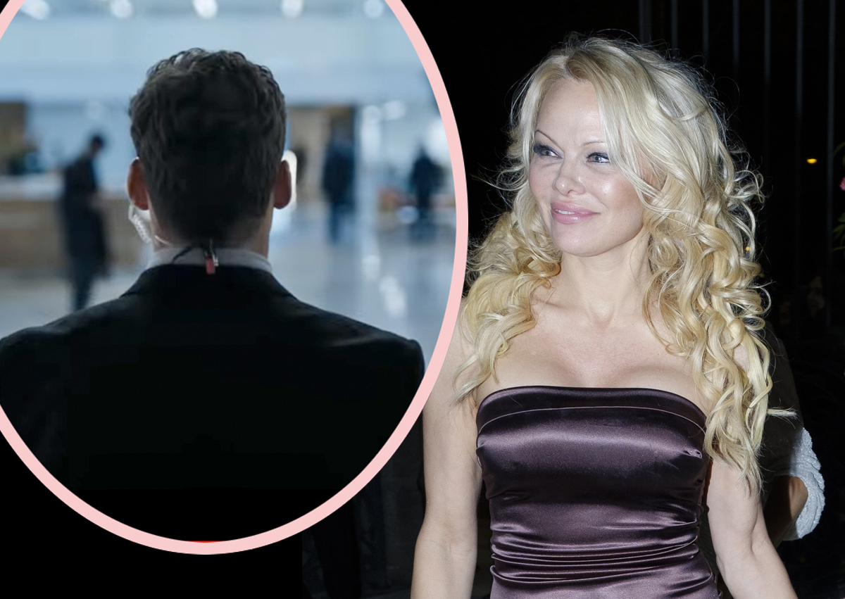 Pamela Anderson A Homewrecker?! New Husband's Ex Claims Star 'Seduced' Her Boyfriend & Broke Up Family Of 5!