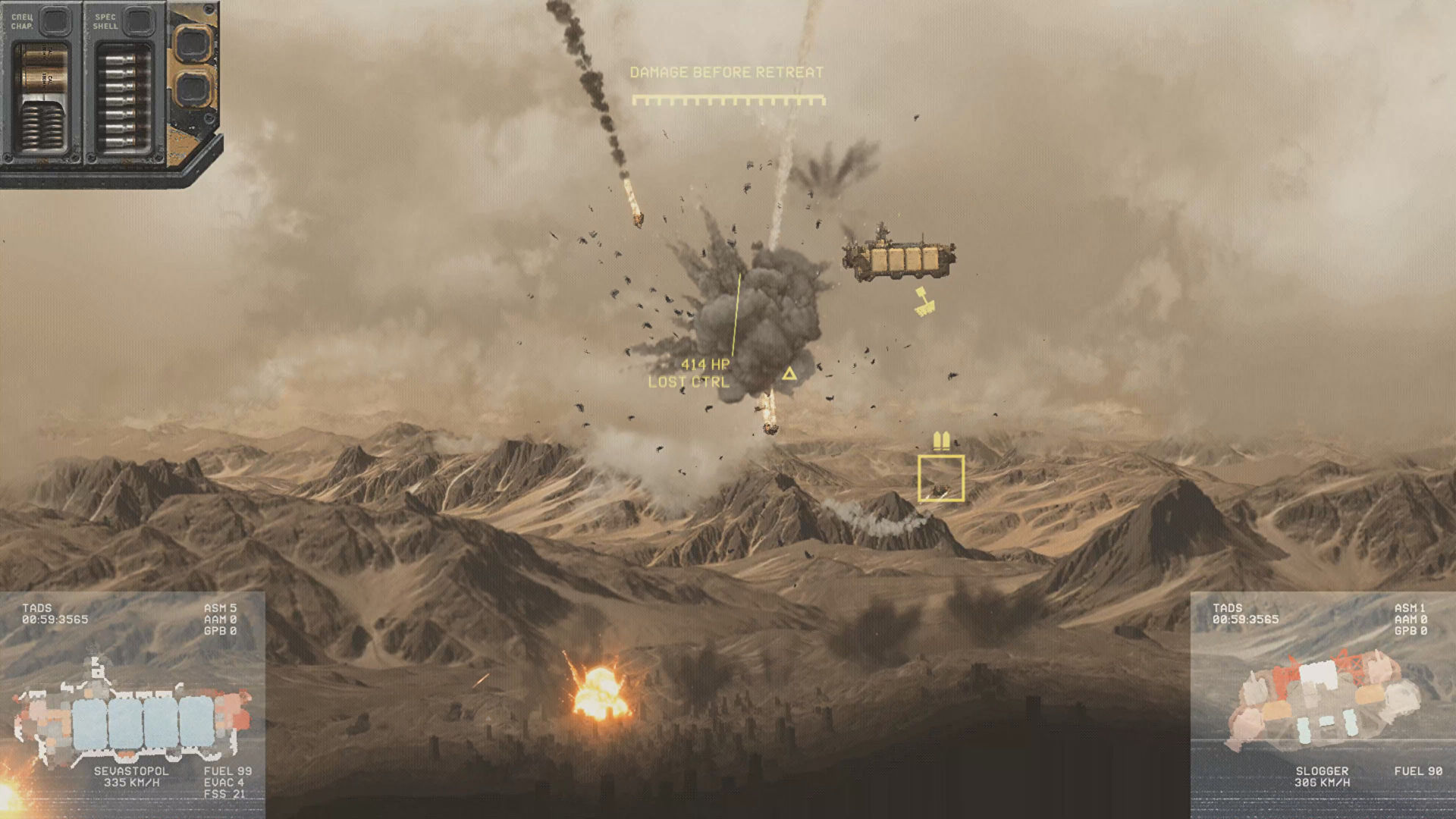 HighFleet is a futuristic action-strategy game about giant airborne ships