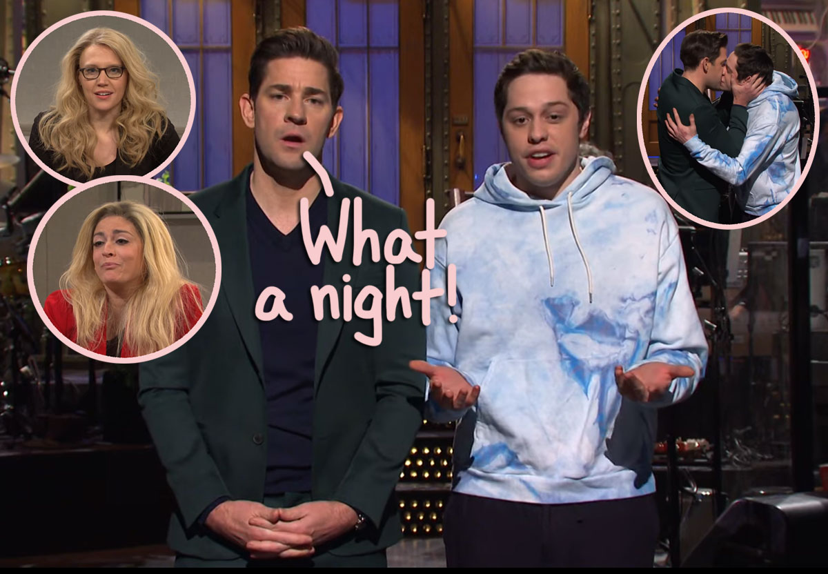 John Krasinski, Machine Gun Kelly, GameStop, And More: Check Out All The SNL Highlights HERE!