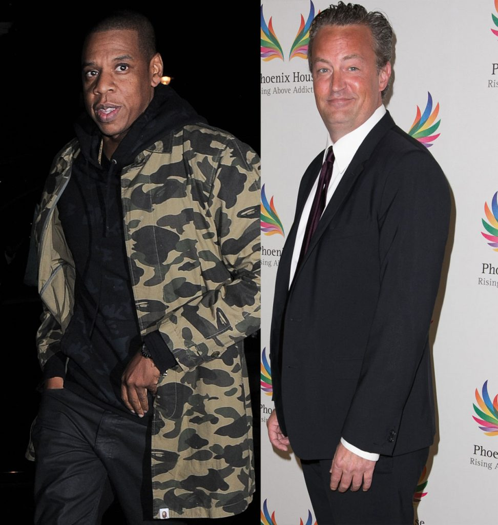 Jay-Z and Matthew Perry are actually the same age!
