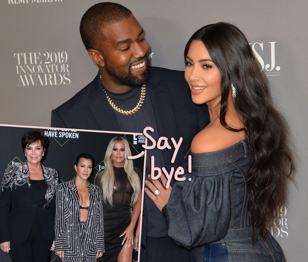 Kim Kardashian's Family Relieved She's Ready To 'Rip Off The Band-Aid & Walk Away' From Kanye — But What About Their Kids?