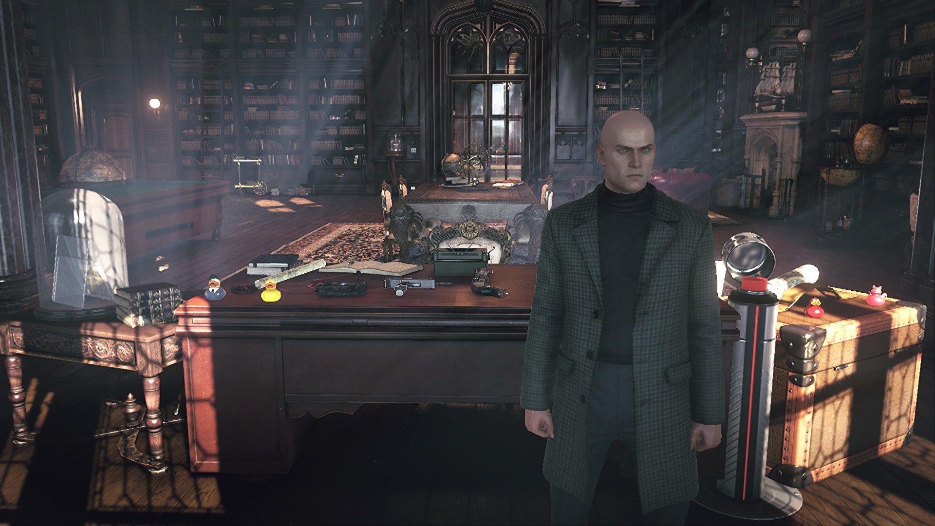 Hitman 3's Dartmoor benchmark is delicious, destructive fun