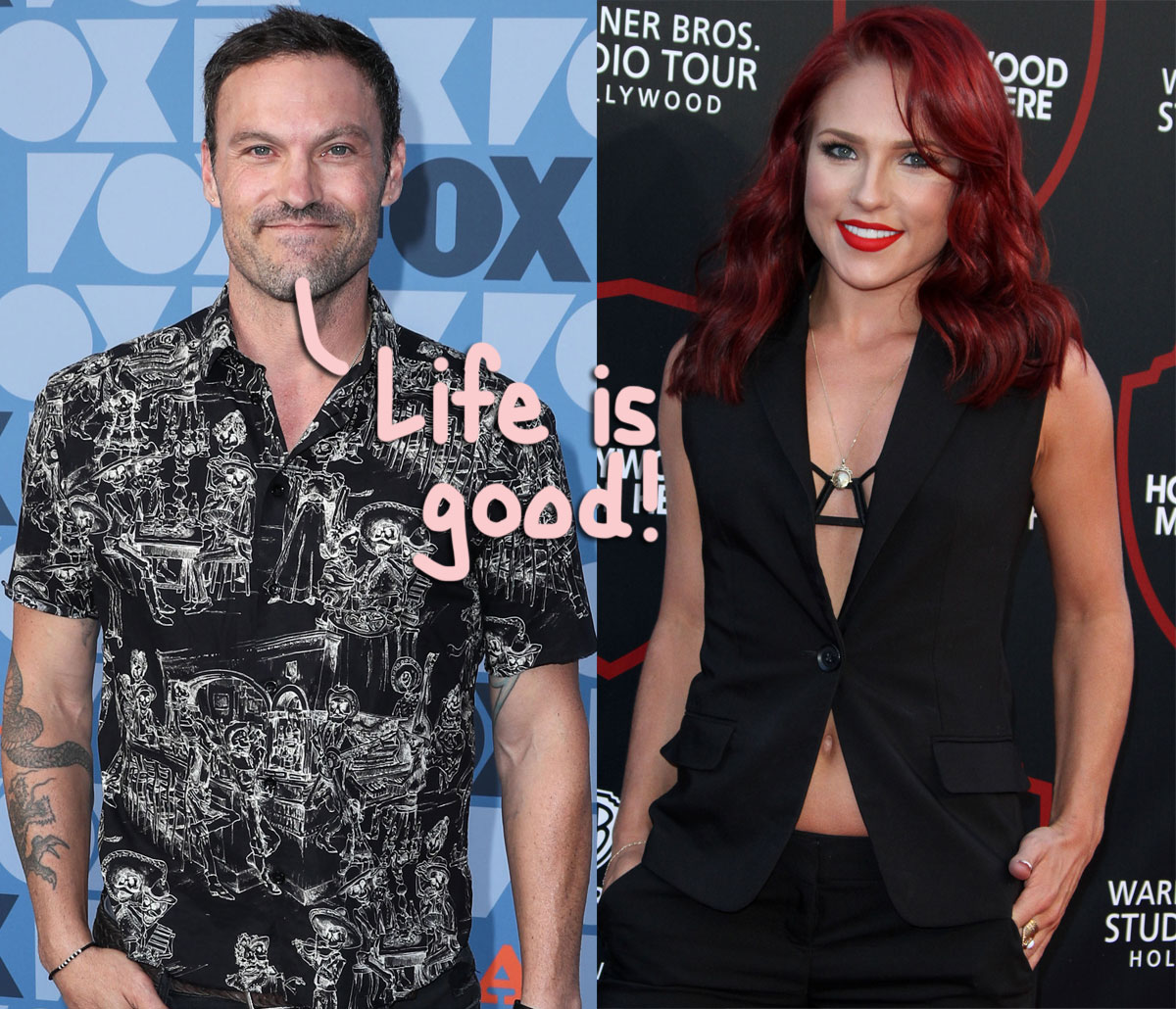Brian Austin Green Says Things Are 'Going Really Well Right Now' With Sharna Burgess!