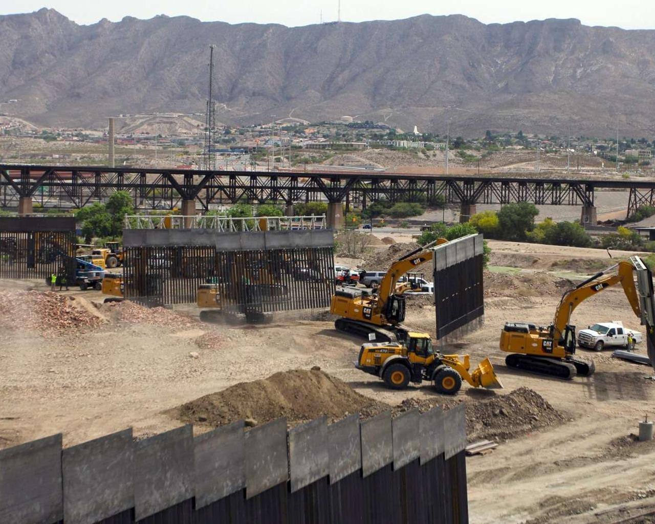 Privately Funded Portion Of Border Wall Reportedly Finished Construction Over Memorial Day