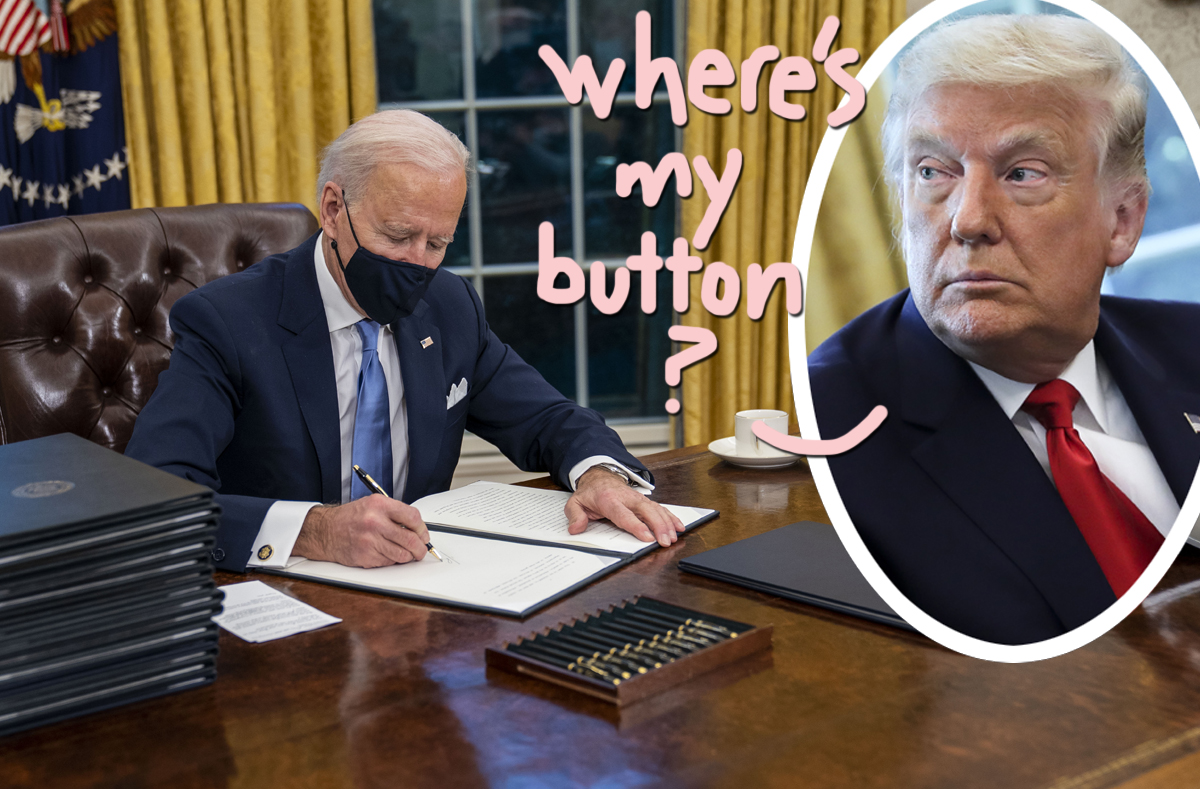 Sorry, Trump Had A BUTTON In The Oval Office That Summoned A Butler With Diet Coke?!