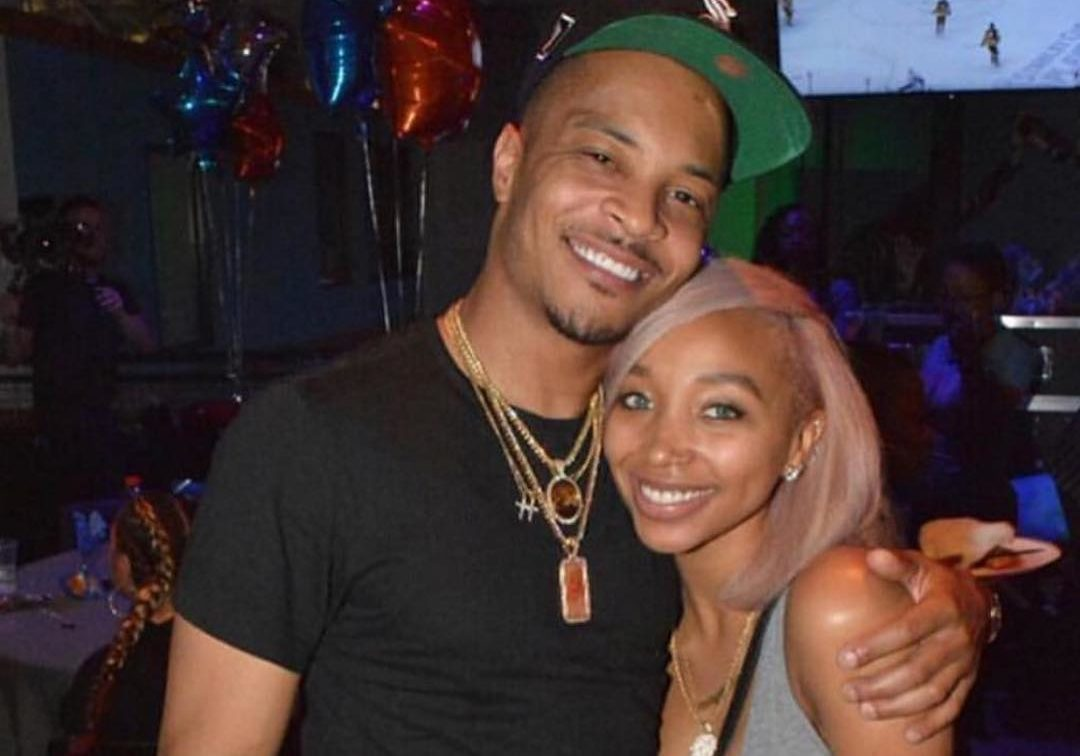 Tiny Harris Makes Fans' Day With A Photo Featuring T.I. And Their Granddaughter – Here's Zonnique Pullins' Baby Girl!