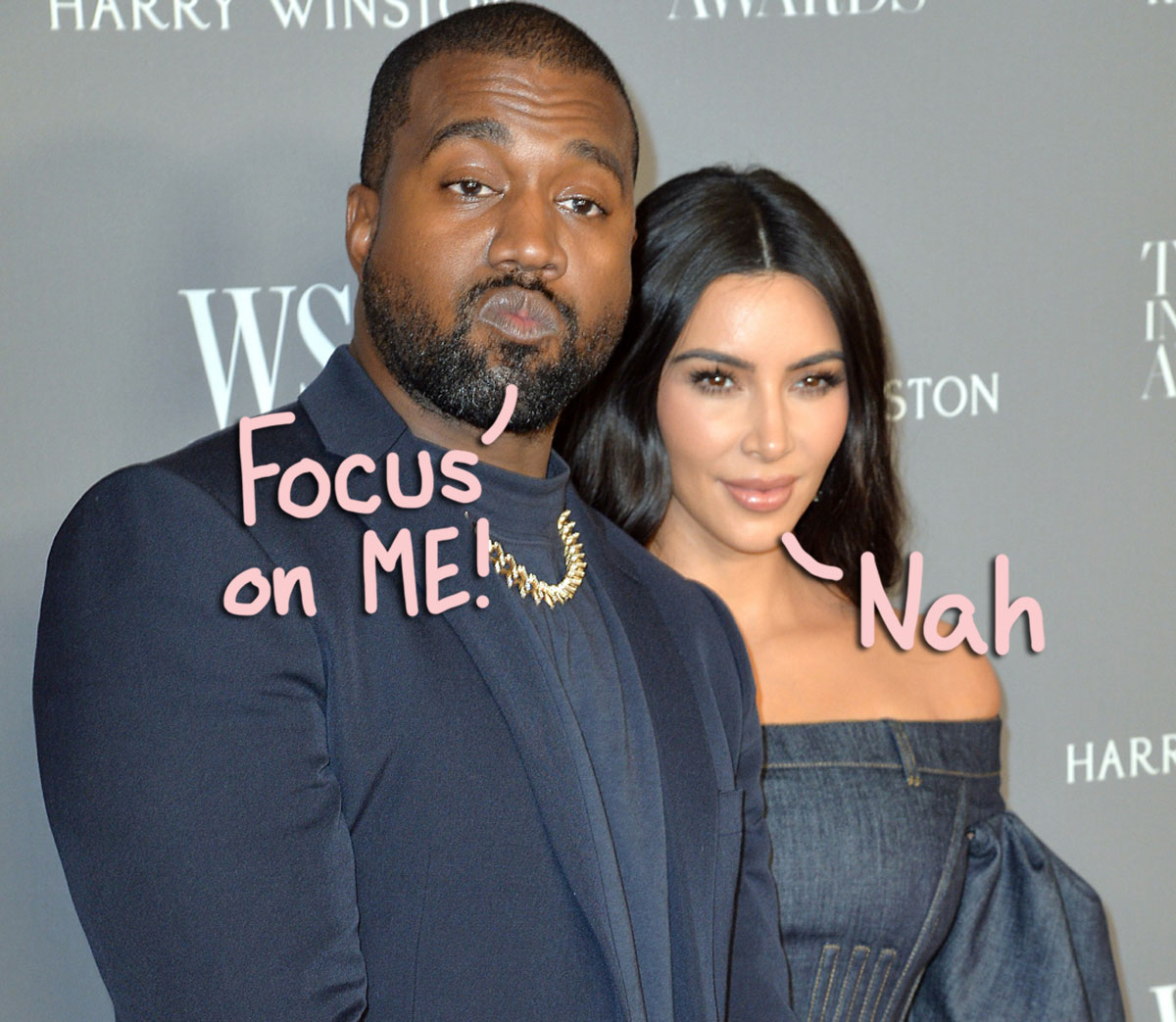 Kanye West 'Jealous' Of Kim Kardashian's Commitment 'To Prison Reform And The Kids'