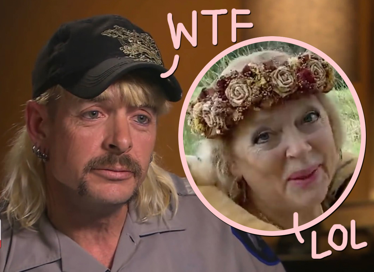 Tiger King's Joe Exotic Is PISSED Donald Trump Didn't Pardon Him -- And Carole Baskin Reacts!
