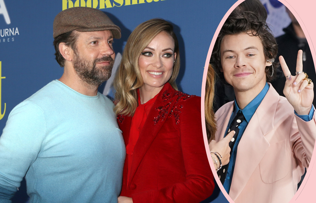 Olivia Wilde 'Blindsided' Jason Sudeikis — And Harry Styles WAS 'A Reason For The Split'!