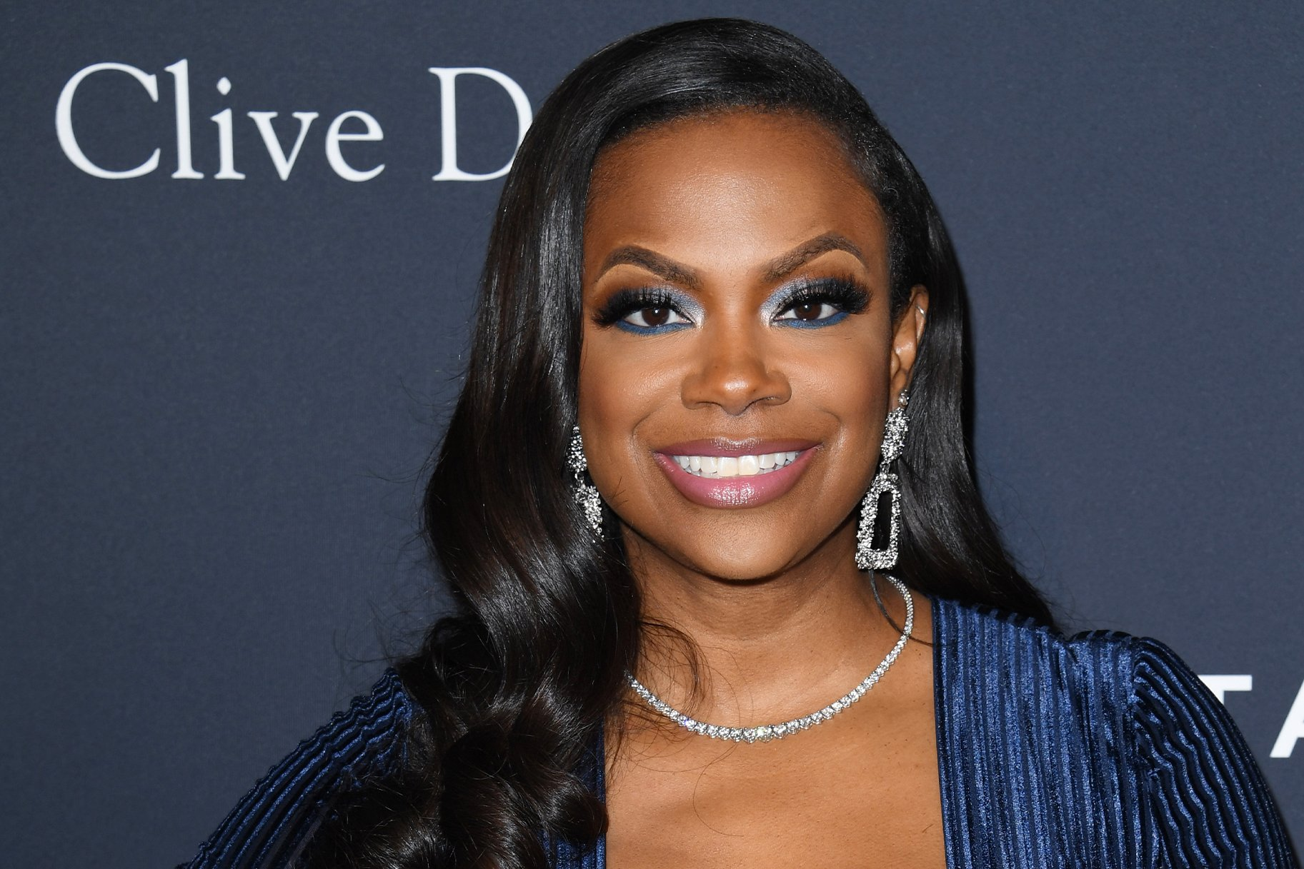 Kandi Burruss Shares A Gorgeous Look For Fans On Social Media – Check Her Out In This Blue Dress