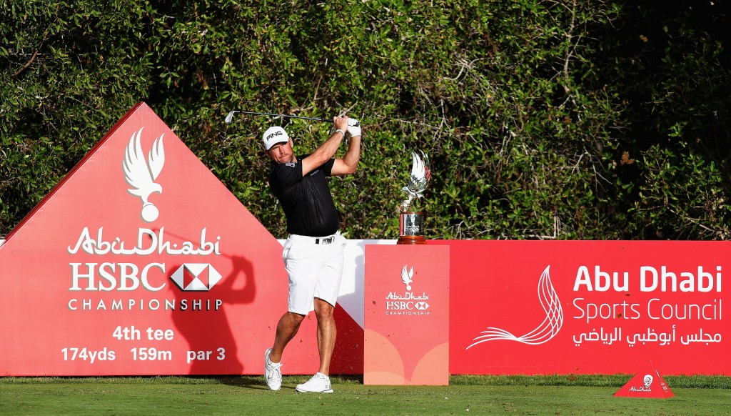 Current champion: Lee Westwood is back to defend his title